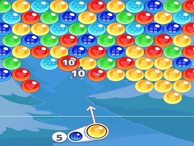 BUBBLE CHARMS XMAS (online game) - Pomu.com