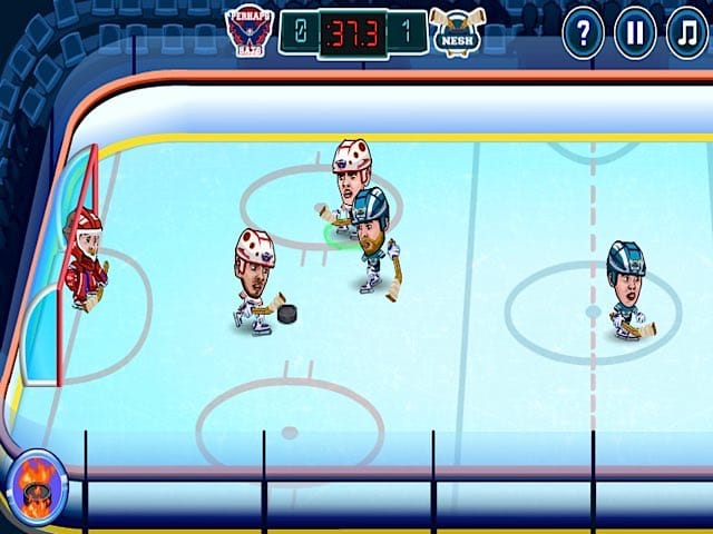 Hockey Legends Online Game Pomu Games