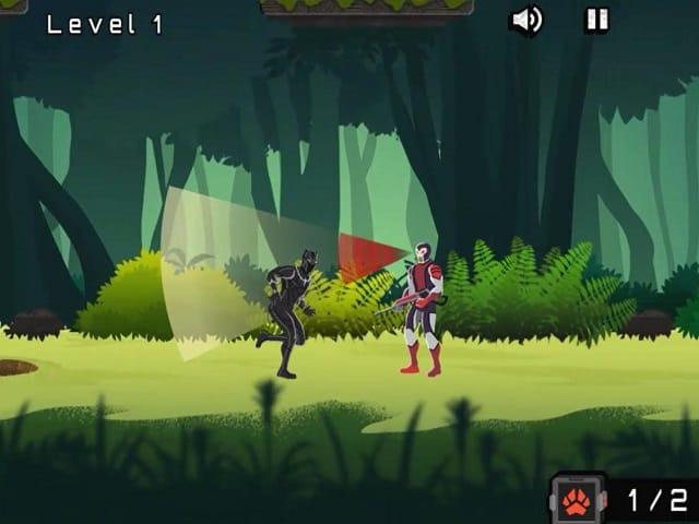 Black Panther Jungle Pursuit Online Game Pomu Com