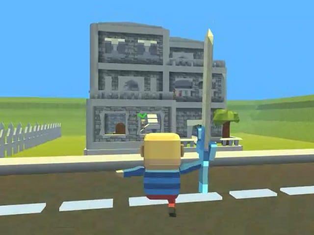 Kogama Hello Neighbor Alpha Minecraft Games At Pomucom - Minecraft hello neighbor spielen