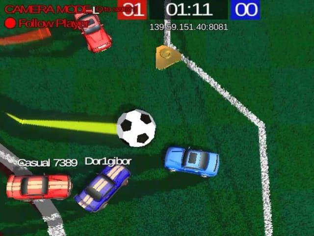 Rocketball Io Online Game Pomu Com