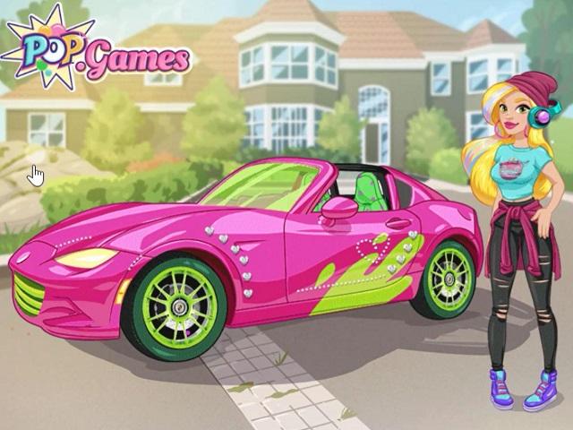 Girls Fix It Gwens Dream Car