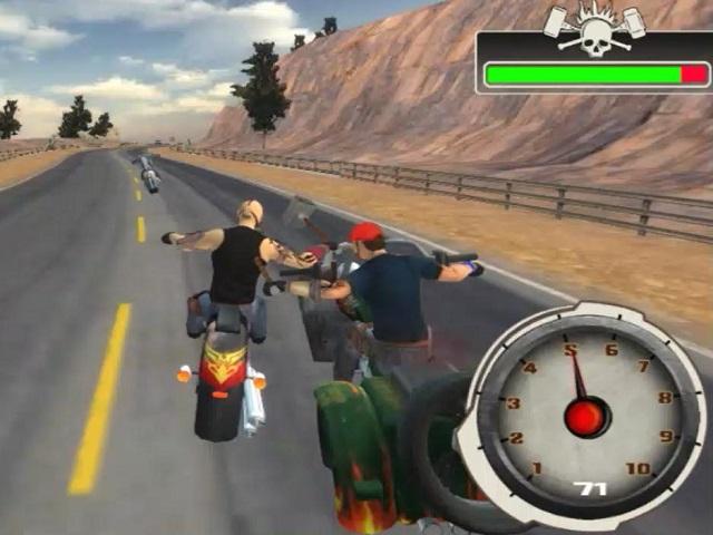 BIKE RIDER 2 ARMAGEDDON online game | POMU Games