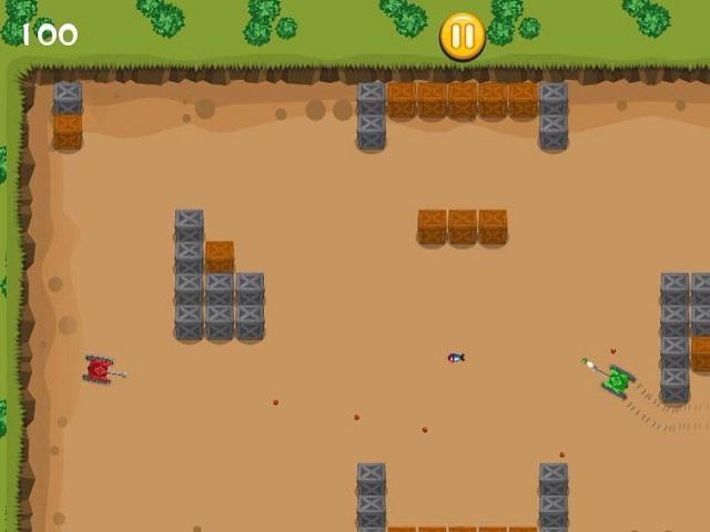 MICRO TANK BATTLE online game | POMU Games