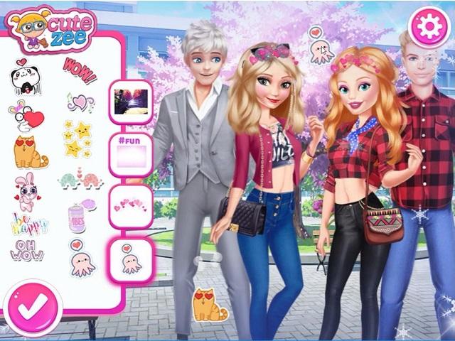 barbie dating makeover games