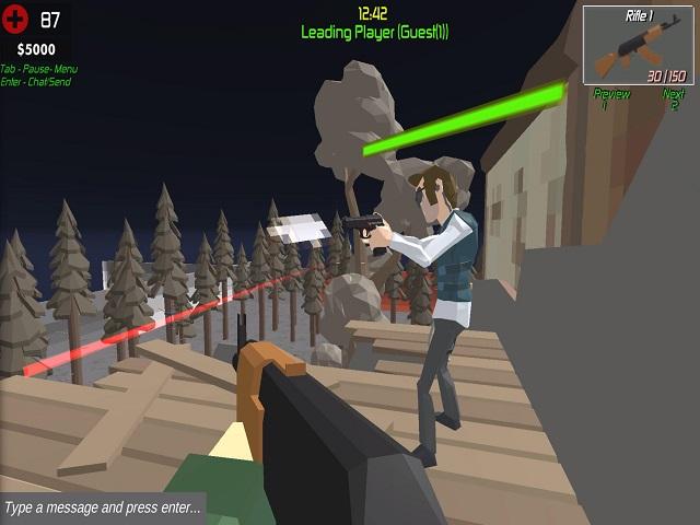 EXTREME BATTLE PIXEL ROYALE online game   POMU Games